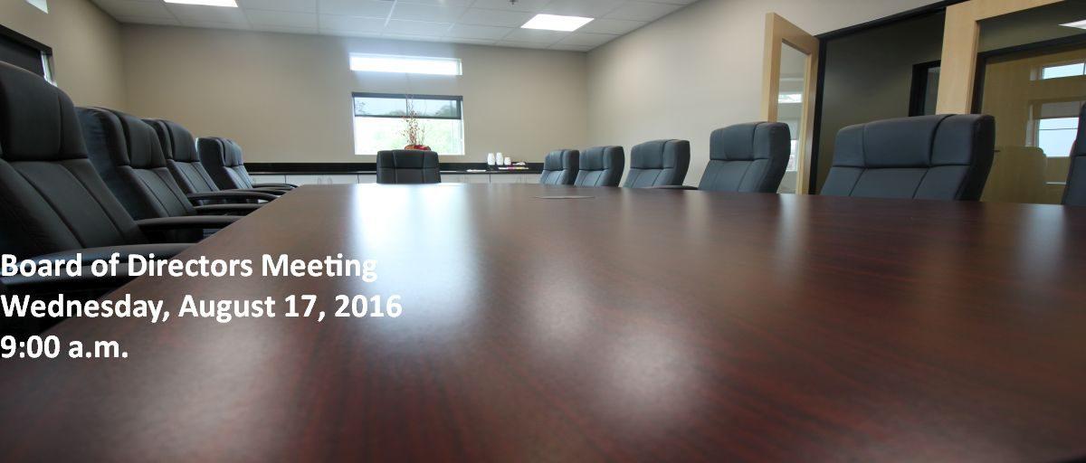 Permalink to: August Board of Directors