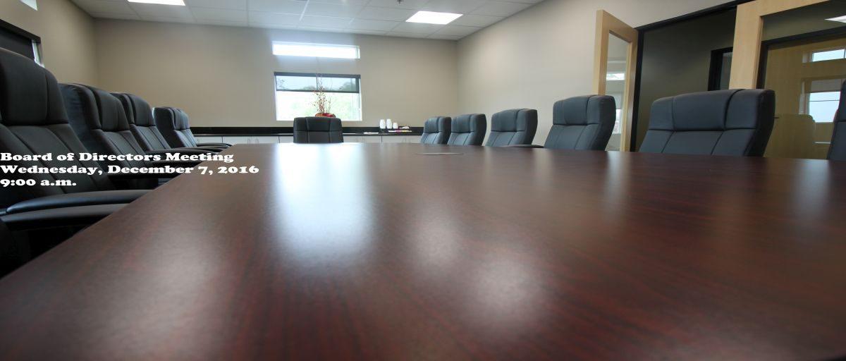 Permalink to: December Board of Directors