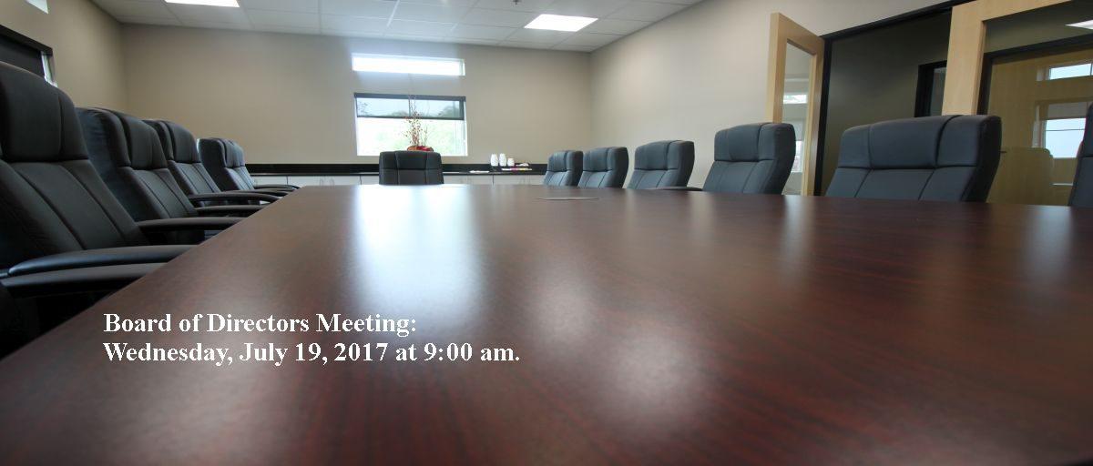 Permalink to: July Board of Directors