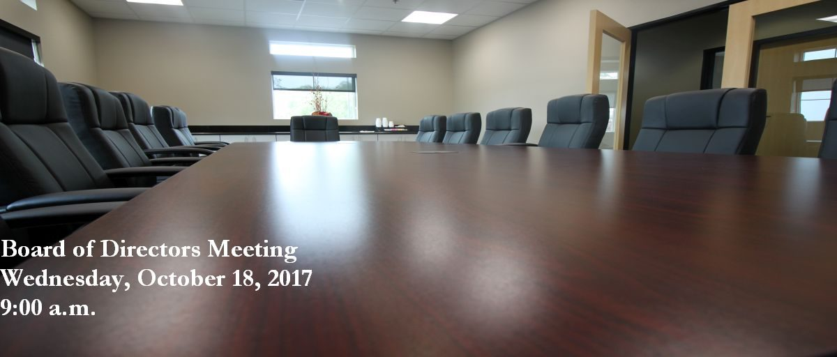 Permalink to: October Board of Directors Meeting