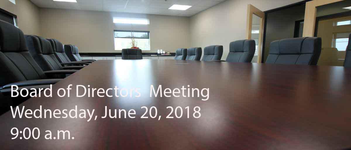 Permalink to: June Board of Directors Meeting