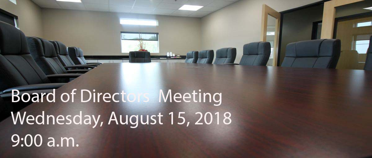Permalink to: August Board of Directors