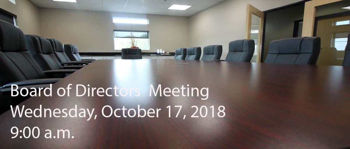 Permalink to: October Board of Directors