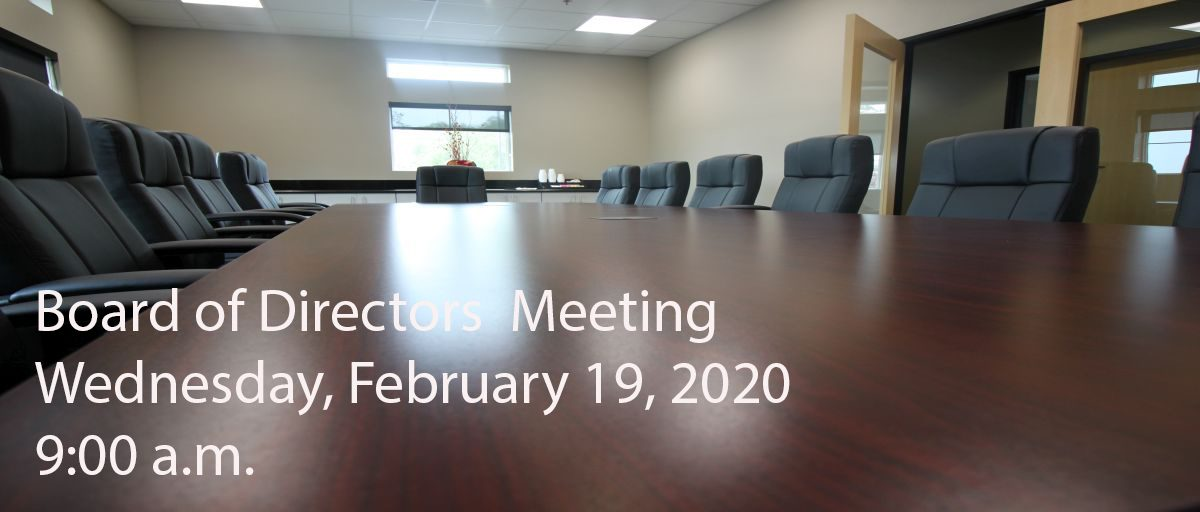 Permalink to: February Board of Directors